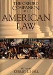 The Oxford Companion to American Law