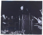 Justice Carter gives the commencement address at Golden Gate Law School, 1956
