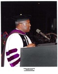Dean Frederick White at Commencement, 2006