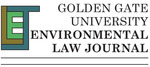 GGU Environmental Law Journal Logo, 2007 by Golden Gate University School of Law