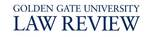 Golden Gate University Law Review Logo, 2012 by Golden Gate University School of Law