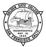 Golden Gate College Logo - 1923